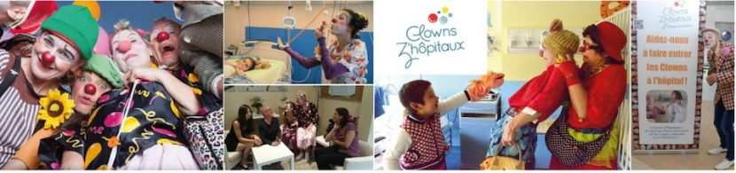 les clowns à l'hopital