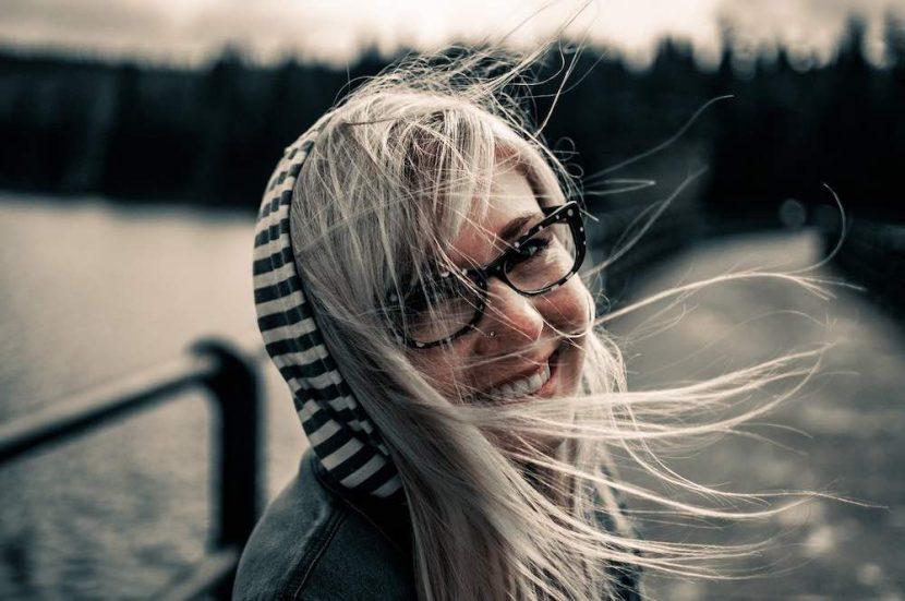 femme souriante après ses exercices